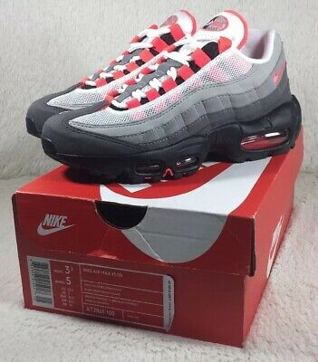outlet store e186e 3c92f NEW Nike Air Max 95 OG Shoes Womens Solar Red Athletic Running AT2865-100  Size