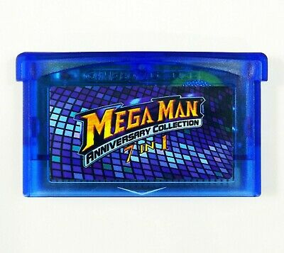 Mega Man Anniversary Collection GBA Gameboy Advance 2 3 4 5 II IV V Xtreme Mania
