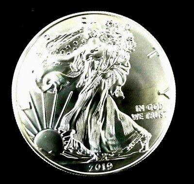 On Sale until Sold Out!  1 oz BU++ 2019 Silver US Eagles @ $18.99 per coin.