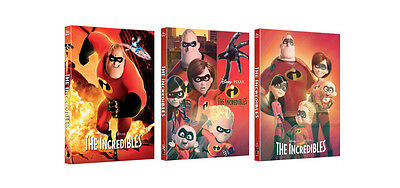 The Incredibles - Blu-ray Steelbook Full Slip Limited Edition / kimchiDVD