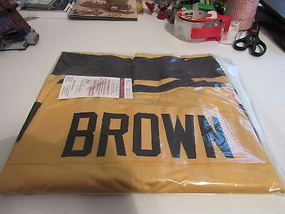 b7cdb65251f Antonio Brown Autographed / Signed Jersey - Pittsburgh Steelers - BumbleBee  JSA