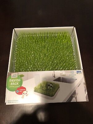 Little Journey Grass Drying Bottle Rack + Drying Rack Accessories