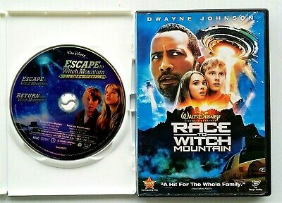 Escape To Witch Mountain/Return Witch Mtn + Race To Witch Mountain 2 DVD