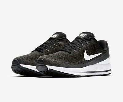 cd16bd8d1bc36 Nike Air Zoom Vomero 13 Mens Size 14 Extra Wide 4E Running Shoes Black White