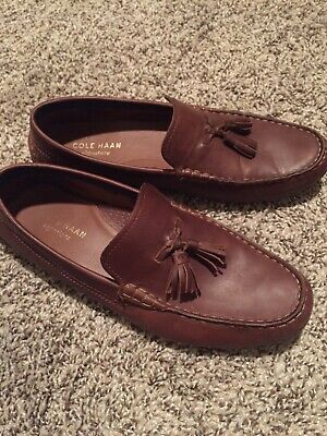 216ec4dd3be Cole Haan Men s Kelson Tassel Loafer Harvest Brown Size 9.5