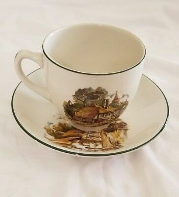 Weatherby Hanley Royal Falcon Ironstone tea cup and  Saucer set England