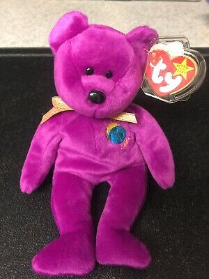 acc5909afc8 TY Beanie Baby 1999 Millenium Bear. Rare Collectible