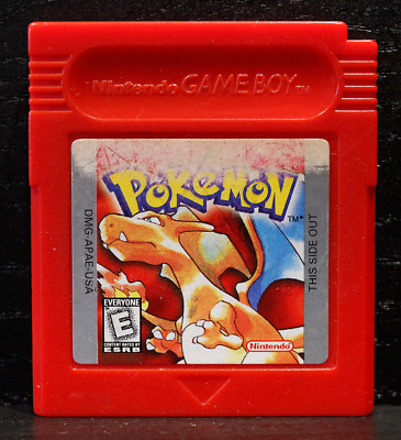 Pokemon: Red Version (Nintendo Game Boy, 1998) *Authentic, Saves*