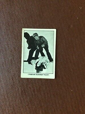 Rare Trade Card Abc A&bc You'll Die Laughing Creature Feature No 40