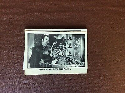 Rare Trade Card Abc A&bc You'll Die Laughing Creature Feature No 59