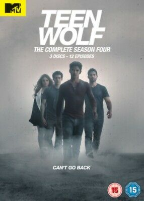 Teen Wolf: The Complete Season 4 (DVD 3 DISC BOX SET, 2014) *NEW/SEALED*
