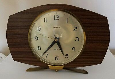 RETRO Metamec Electric Clock Works Perfectly Excellent Condition Retro Teak