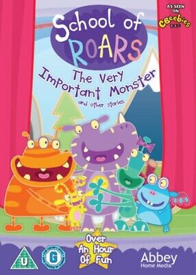 School of Roars: The Very Important Monster and Other Stories (DVD, 2017) *NEW*