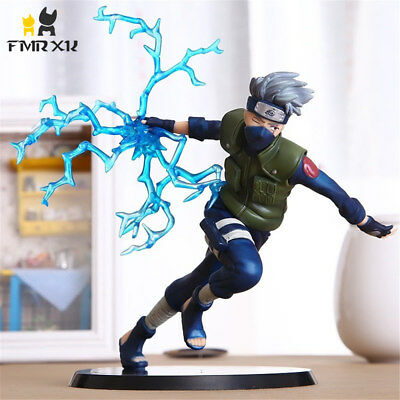 22cm Naruto Kakashi Sasuke PVC Action Figure Anime Puppets Toys Model Collection