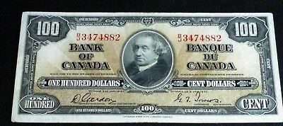 1937  $100   Bank Of Canada