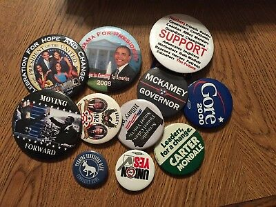 President Obama Campaing Buttons