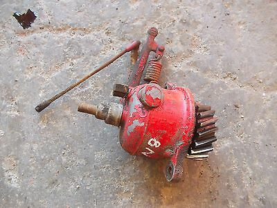 Ford 8N tractor engine motor LATE MODEL governor assembly w/ tachometer drive ca