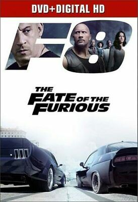 The Fast and the Furious 8: The Fate of the Furious DVD NEW