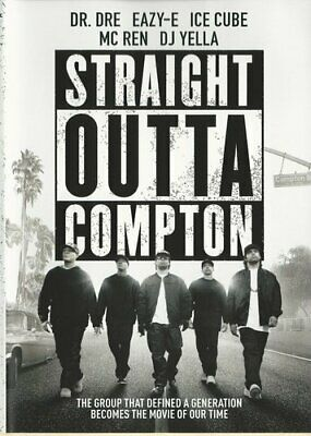 Straight Outta Compton DVD NEW