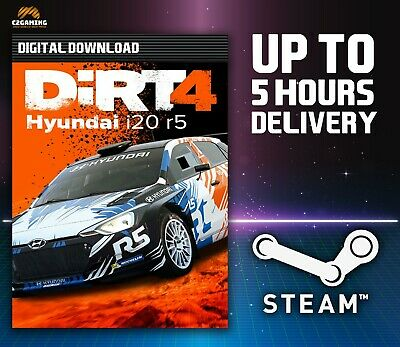 DiRT 4 - Hyundai R5 rally car DLC [PC/MAC] (2017) STEAM DOWNLOAD KEY 🎮🔑
