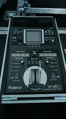 Roland V-4EX 4-Channel Digital Video Mixer with Effects &touch panel =EXCELLENT=