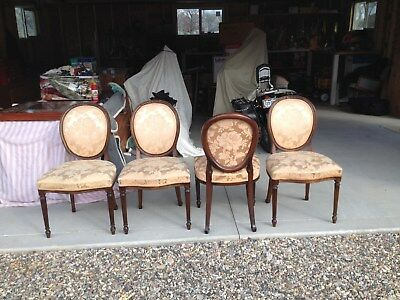 English Antique Chairs Hand Carved Imported From Scotland ****10 Chairs****
