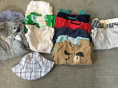 Sping Summer Bundle Of Baby Boy 6-12 Months Marks And Spencer Baby Gap