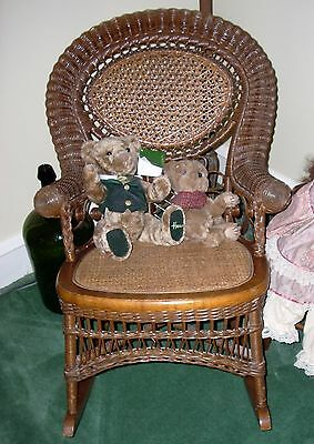 ANTIQUE CHILD'S ROCKER - Cane & Wicker - Cape May, NJ