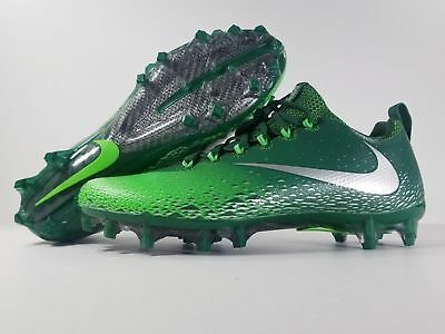 49d7c005a Nike Football Cleats Size 10 Vapor Untouchable Pro Green 833385-303 Brand  New