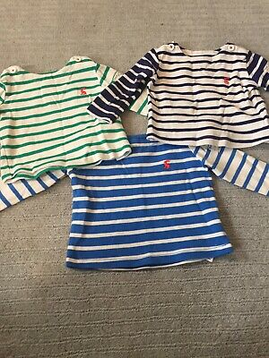 Joules Baby striped long sleeved top Bundle 3-6 months
