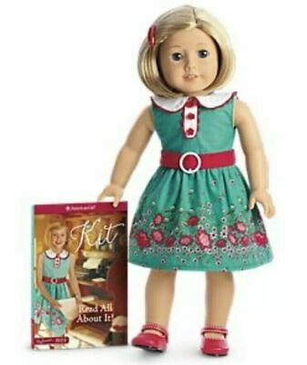 American Girl Kit Doll With Book Beforever Doll New In Box