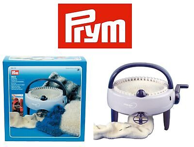 Prym Maxi Knitting Mill Semi Automatic Knit Scarves Hats Cushions Wool Craft