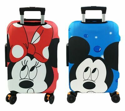 Minnie Mickey Travel Case Protective Cover Luggage Suitcase Skin Bag Dust Proof