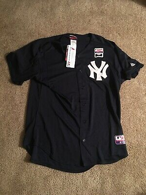 9d658f5cc94 New York Yankee NWT Batting Practice Jersey MLB Majestic Size L Large  Authentic