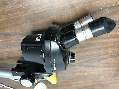 Bausch and Lomb / Hughes MCW552 0.7X-3X Microscope Head W/ 2x Eye Pieces