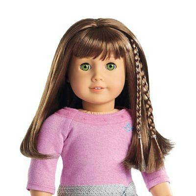 American Girl Doll Do's Accent Braid Clips -Brown (Retired) NIP