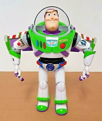 THINKWAY Toy Story Collection BUZZ LIGHTYEAR SPACE RANGER with Utility Belt