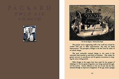 Packard 1916 - 1916 Packard Twin Six 2-25 and 2-35
