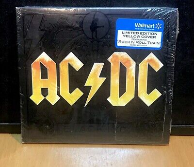 "AC/DC "" BLACK ICE "" 2008  CD ! SEALED ! DIGI  Spoilin For A Fight Yellow Cover"