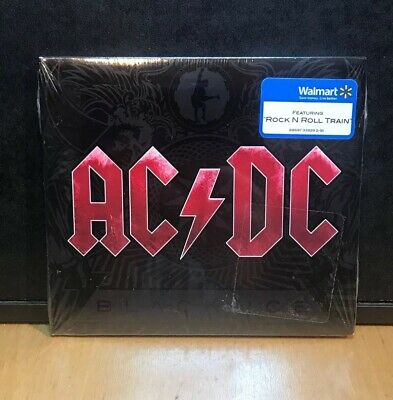 "AC/DC "" BLACK ICE "" 2008  CD ! SEALED ! DIGI  Spoilin For A Fight Red Cover"