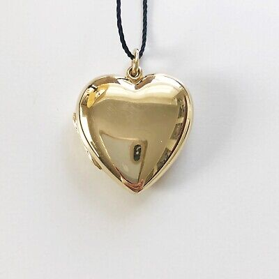 a97b4ad0a Extra-Large Tiffany & Co 14K Yellow Gold Heart Locket - Vintage - 10.4 grams