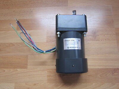 Induction Motor EO667 - 354 / Oriental Motor D1533 - 354 / Made in Japan / TOP.