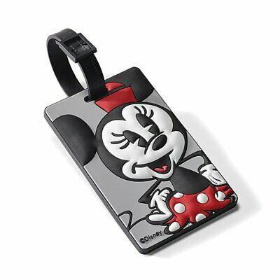 American Tourister Disney ID Luggage Travel Tag Minnie Mickey Mouse 74445