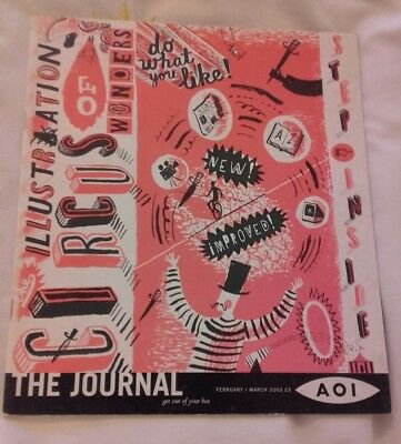 AOI Association Of Illustrators. The Journal. February / March, 2003. 28 pages