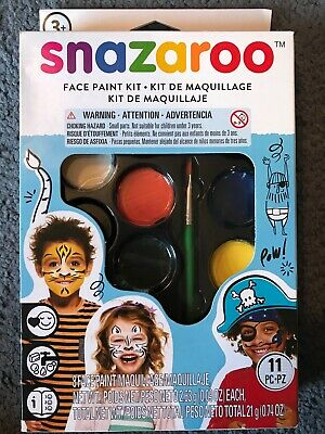 NEW Snazaroo Face Paint Palette Kit