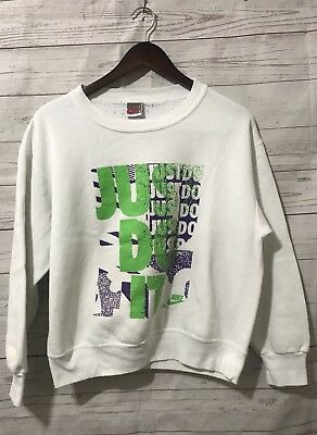 07258557959986 Vintage 90 s Nike Air Just Do It Sweatshirt Men s S Made in the USA ...