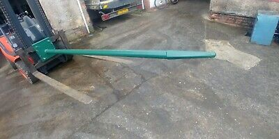 New Carpet Poles Fitted to Forklift Truck Carriage