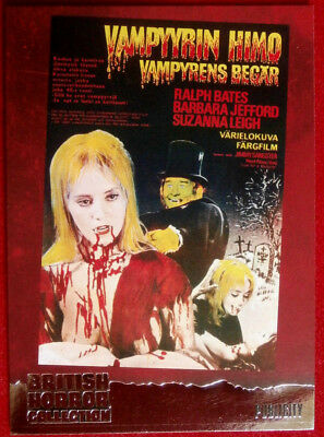 BRITISH HORROR COLLECTION - LUST FOR A VAMPIRE - SUZANNA LEIGH - FOIL Card F13