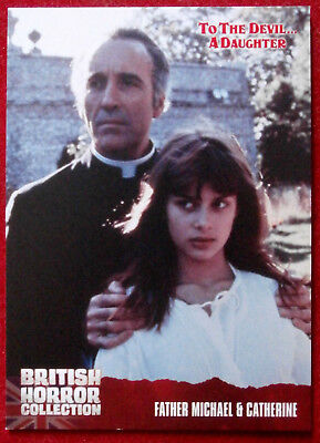 BRITISH HORROR COLLECTION - To The Devil A Daughter - NASTASSJA KINSKI Card #46