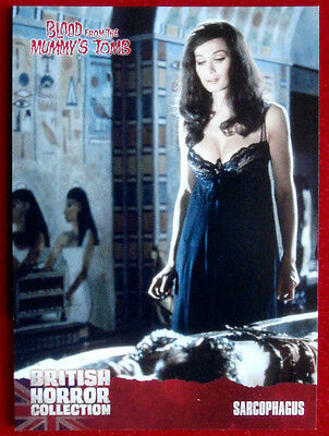 BRITISH HORROR COLLECTION - Blood From The Mummy's Tomb - SARCOPHAGUS - Card #03